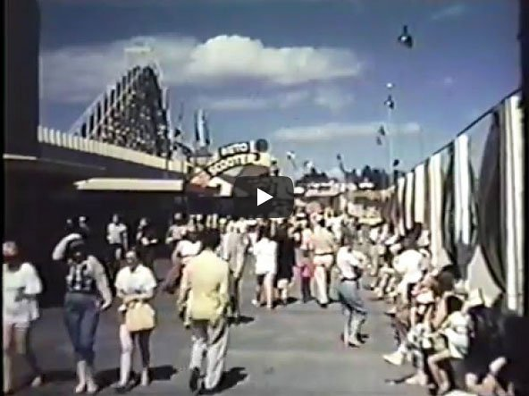 Santa Cruz in 1955