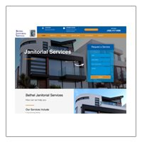 Bethel Janitorial Services (WordPress)