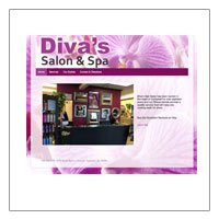 Divas Hair Salon and Day Spa (WordPress)