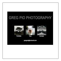 Greg Pio Photography (HTML)