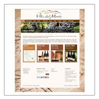 Villa Del Monte Winery  (WordPress)