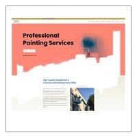 Divi Template: Mora Professional Painting