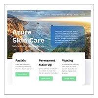 Azure Skincare (Divi layout)