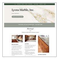 Lyons Marble (WordPress: Divi)